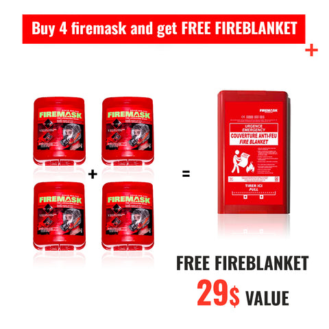 SALE !! BUY 4 FM60 and get 1 FREE FIREBLANKET