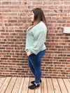 The Darby Popcorn Sweater in Plus - *More Colors* Long sleeve Zenana