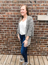 The Lola Dark Sage Cardigan Cardigan Gigio