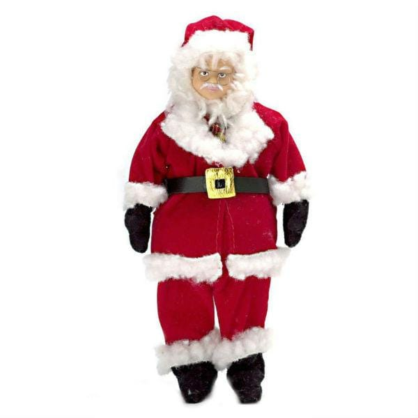 A dollhouse doll Santa Claus.
