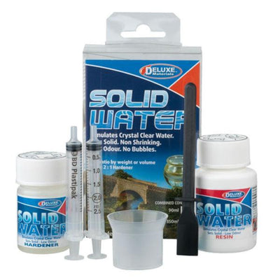 Solid Water for craft projects set.