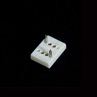 A dollhouse wall outlet.