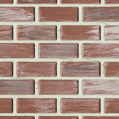 1/2 Inch Scale Used Brick Latex Dollhouse Sheet - Little Shop of Miniatures