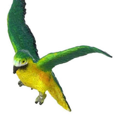 A miniature macaw parrot.