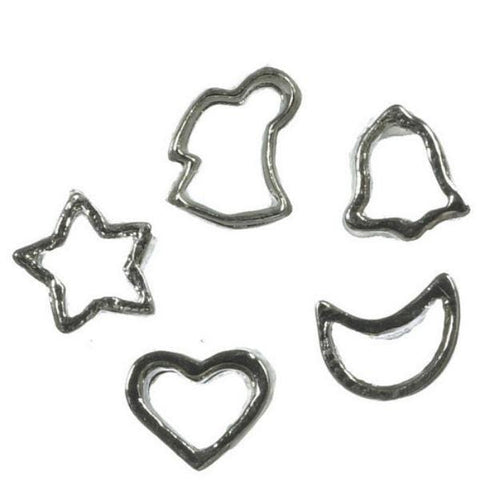 Dollhouse Miniature Cookie Cutter Set - Little Shop of Miniatures