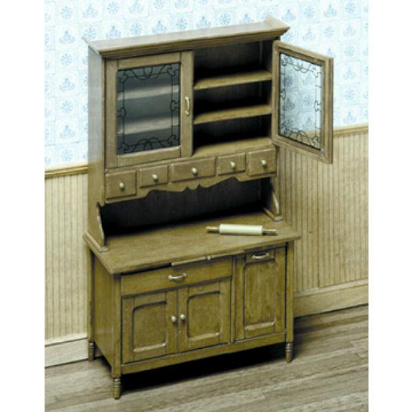 A Chrysnbon dollhouse cabinet kit.