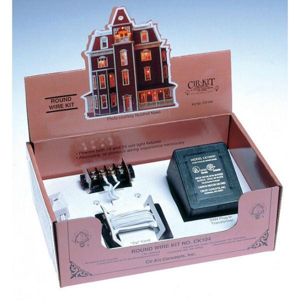 A dollhouse round wire kit.