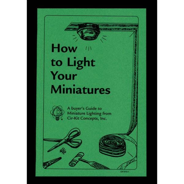 "The cover of ""How to Light Your Miniatures"" book."