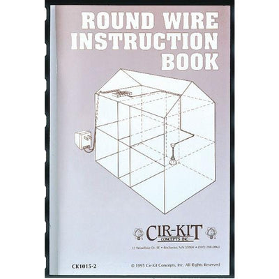 "A book cover for ""Round Wire Instruction Book."""