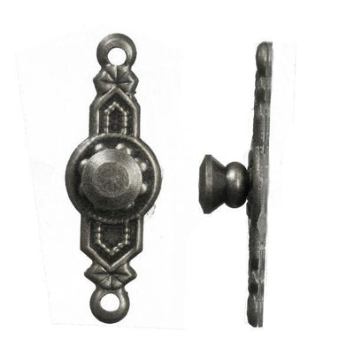 Pewter Dollhouse Miniature Colonial Door Knobs - Little Shop of Miniatures