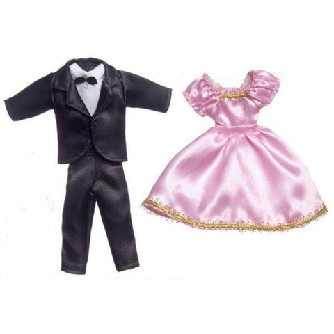 Dollhouse Doll Formal Wear - Little Shop of Miniatures
