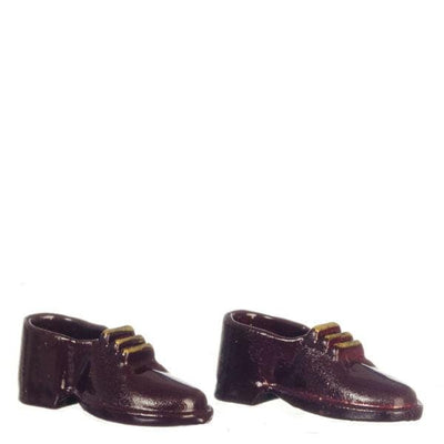 Men's Dollhouse Doll Dress Shoes - Little Shop of Miniatures