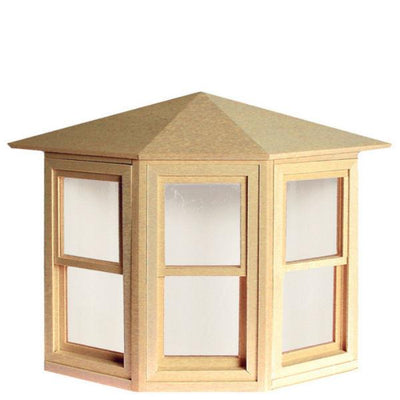 Working Dollhouse Miniature Bay Window - Little Shop of Miniatures