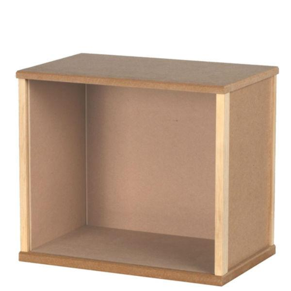 An MDF medium display box.