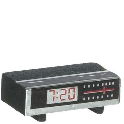Dollhouse Miniature Clock Radio - Little Shop of Miniatures