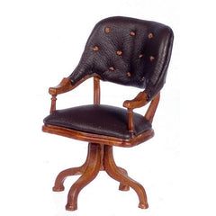 A miniature reproduction of the chair Ulysses S. Grant sat in at Appomattox.