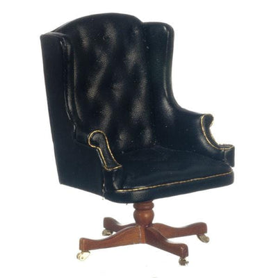 A miniature version of the desk chair used by President Clinton.