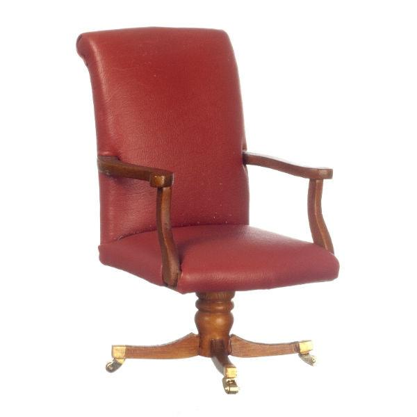 A miniature version of the desk chair used by President Obama.