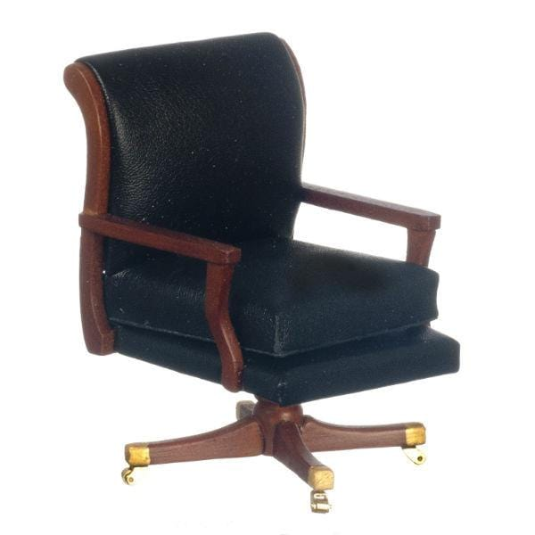 A miniature version of the desk chair President Nixon used while in office.