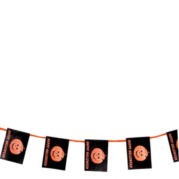 A dollhouse miniature Halloween garland.