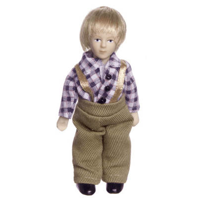 Jonah Dollhouse Doll - Little Shop of Miniatures