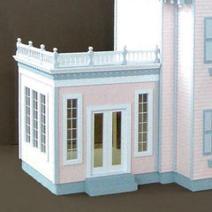 A dollhouse conservatory addition.