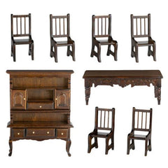 dollhouse furniture dining set