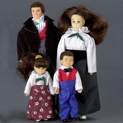 Watson Family Dollhouse Dolls - Little Shop of Miniatures