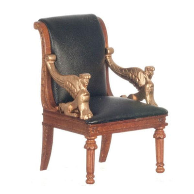 dollhouse miniature armchair