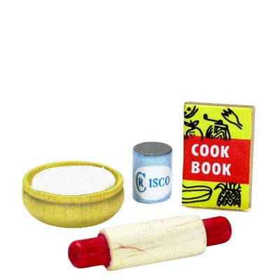 Dollhouse Miniature Baking Supplies - Little Shop of Miniatures