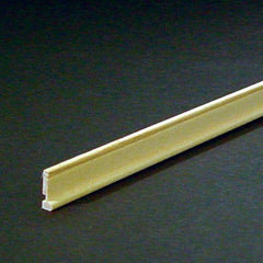 dollhouse miniature baseboard with shoe molding