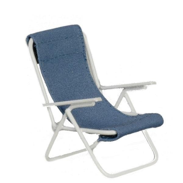 dollhouse miniature beach sling chair
