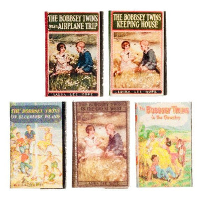 The Bobbsey Twins Dollhouse Miniature Book Set - Little Shop of Miniatures