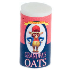 dollhouse miniature breakfast oats