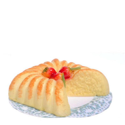 dollhouse miniature pound cake