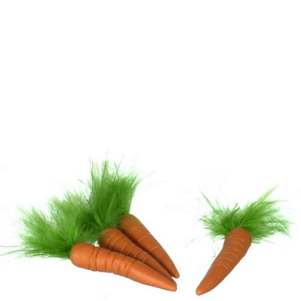 dollhouse miniature carrots