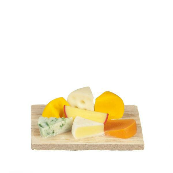 dollhouse miniature cheese board