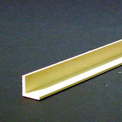 Dollhouse miniature corner molding that measures 3/8 inch.