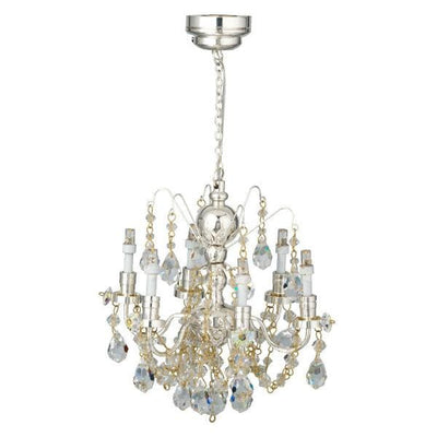 dollhouse miniature crystal chandelier