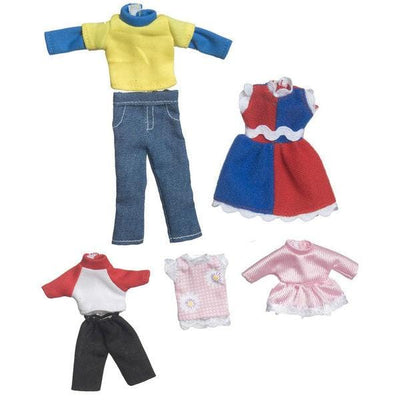 Autumn Dollhouse Doll Clothing Set - Little Shop of Miniatures
