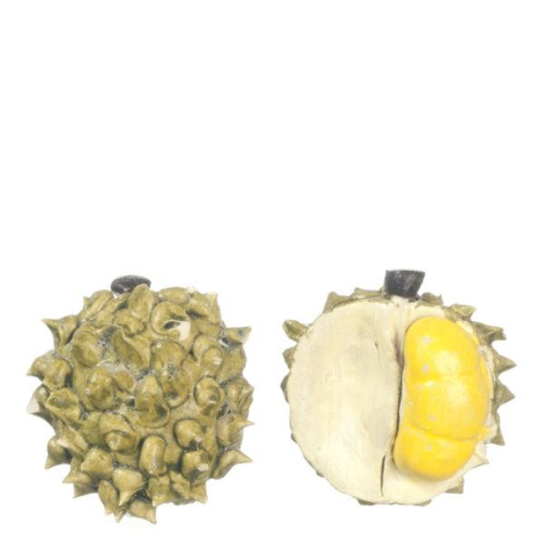 dollhouse miniature durian fruits