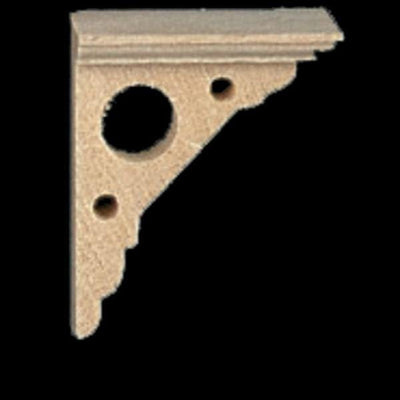 Dollhouse Miniature Eaves Bracket Set - Little Shop of Miniatures