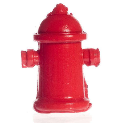Red Dollhouse Miniature Fire Hydrant - Little Shop of Miniatures