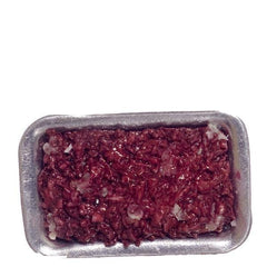dollhouse miniature ground beef