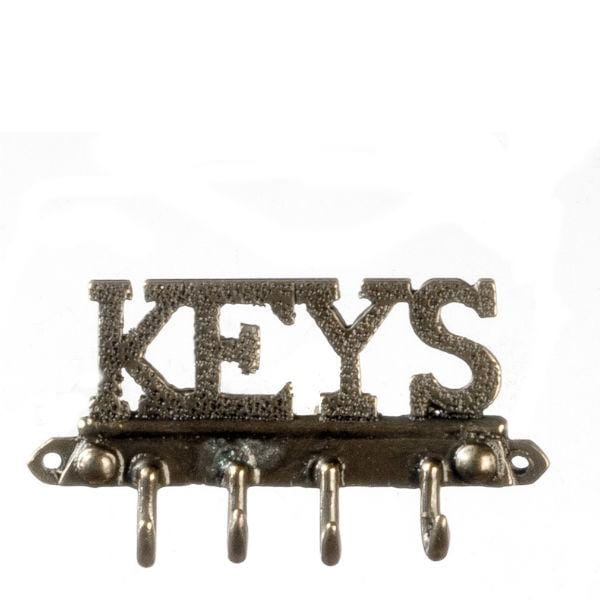 dollhouse miniature key rack