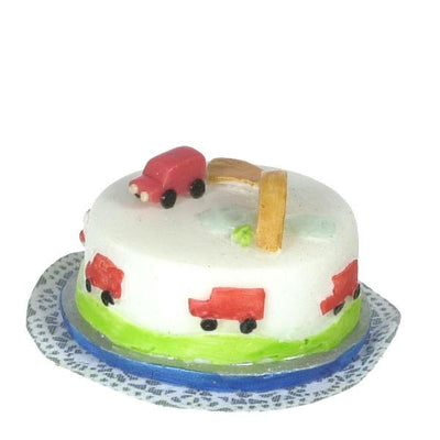 dollhouse miniature kids cake