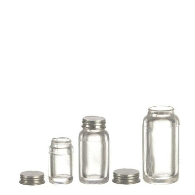 Dollhouse Miniature Mason Jar Set - Little Shop of Miniatures