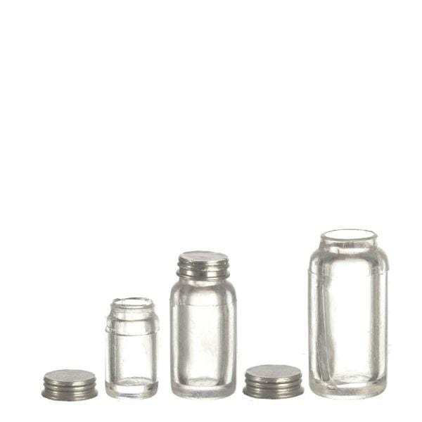 dollhouse miniature mason jars