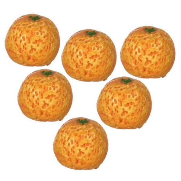 dollhouse miniature oranges