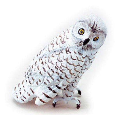 Dollhouse Miniature Snowy Owl - Little Shop of Miniatures